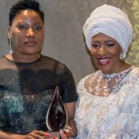 Dr Martha Namundjebo-Tilahun Awarded by African Union Commission and Diaspora African Forum the African Women of Excellence Award